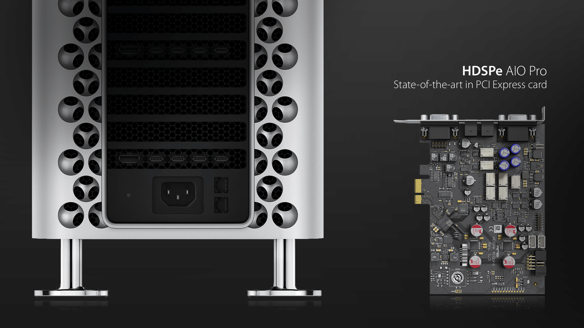HDSPe AIO Pro -The completely reworked successor of the popular HDSPe AIO.