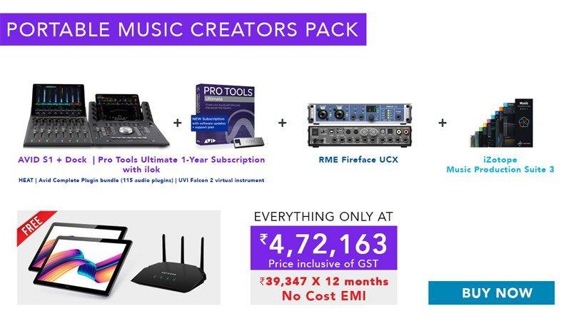 Portable Music Creators Pack