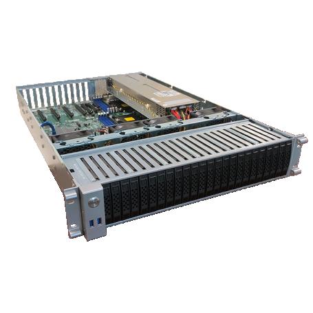 OSS - 2U EOS Server without Bezel Open