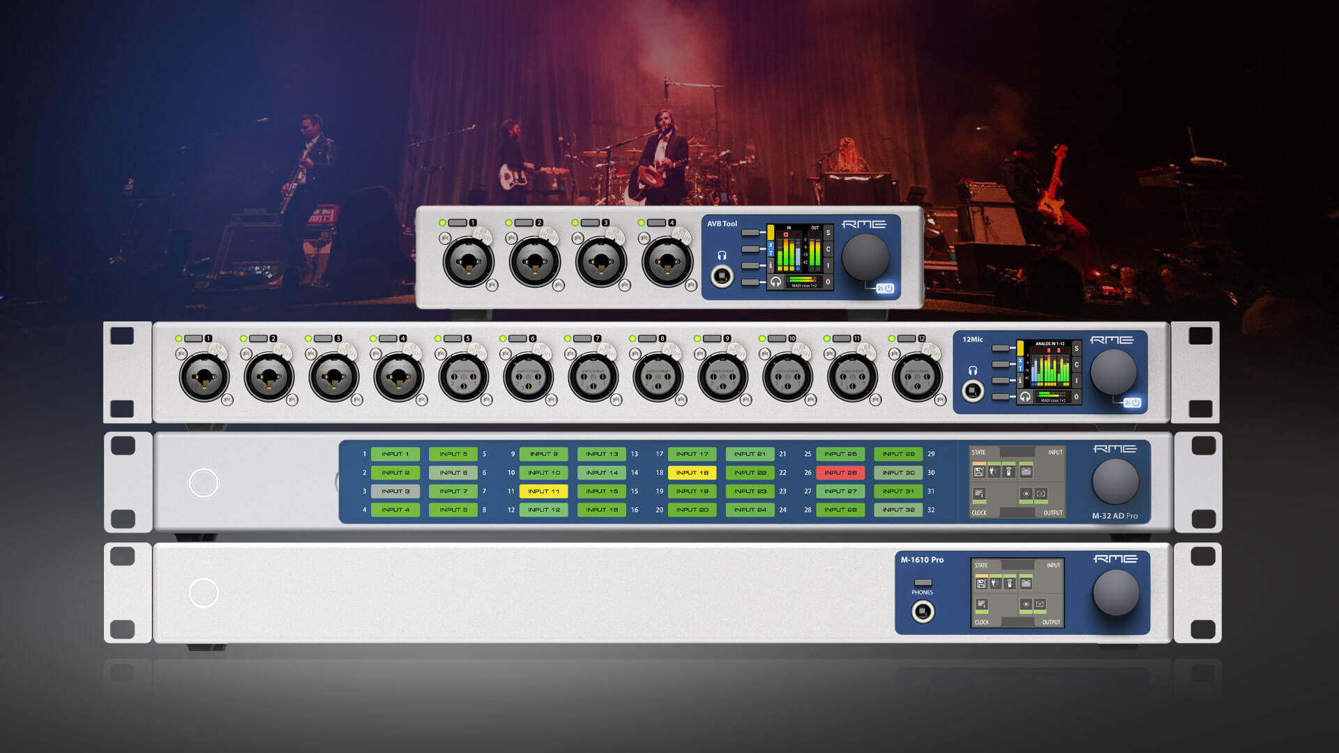 RME AVB Network Audio Devices