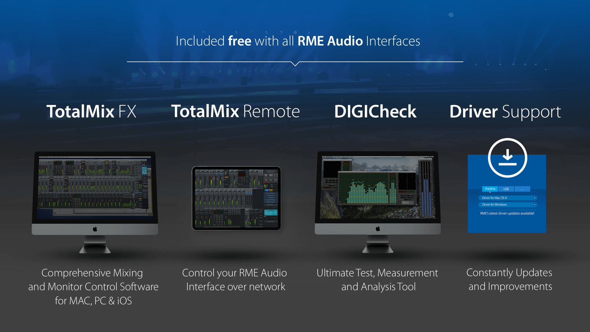 Free Software for all RME Audio Interfaces